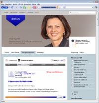 Direkt zu Ilse Aigner - ein Sprachrohr für Verbraucher